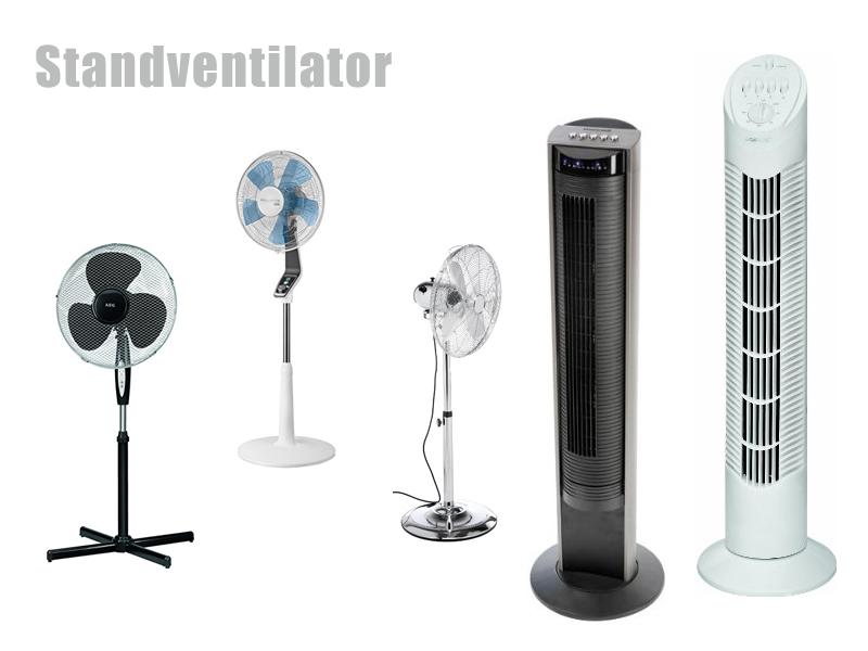 Ventilator Sprühnebel