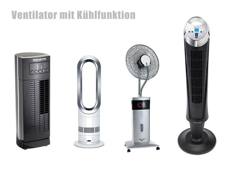 Ventilator mit Kühlfunktion